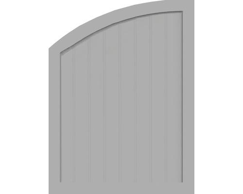 Sichtschutzelement Basic Line Typ R, links, Grau 90 x 120/90 x 4,8 cm