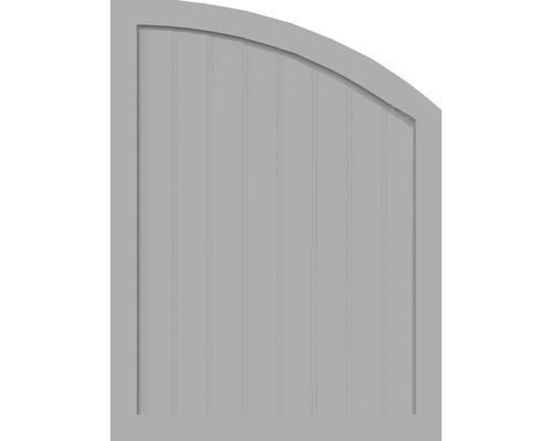 Sichtschutzelement Basic Line Typ R, rechts, Grau 90 x 120/90 x 4,8