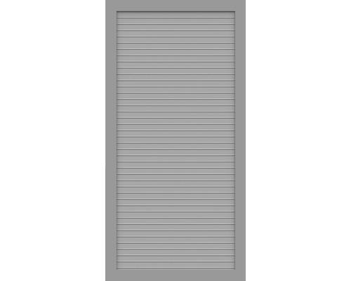 Sichtschutzelement Basic Line Typ T Grau 90 x 180 x 4,8 cm