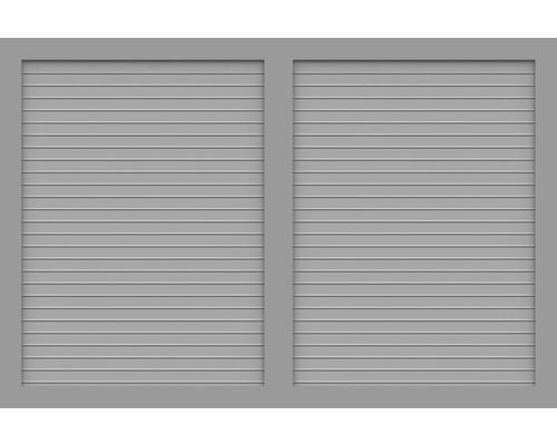 Sichtschutzelement Basic Line Typ V Grau 180 x 120 x 4,8 cm