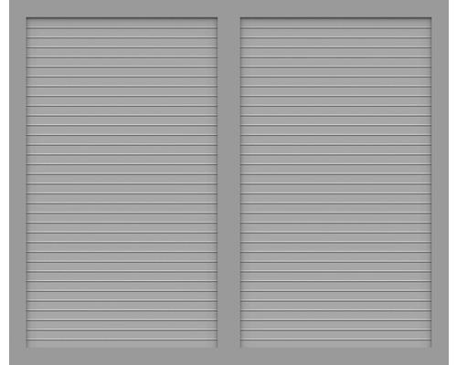 Sichtschutzelement Basic Line Typ U Grau 180 x 150 x 4,8 cm