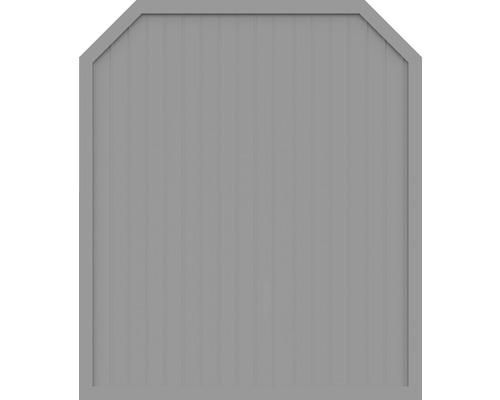 Sichtschutzelement Basic Line Typ J, Grau, 180 x 210/180 cm