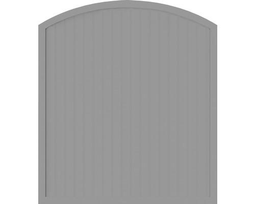 Sichtschutzelement Basic Line Typ F, Grau, 180 x 205/180 cm
