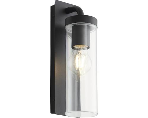 Außenwandleuchte1-flammig IP44 Aoste schwarz/matt