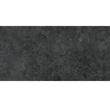 Feinsteinzeug Wand- und Bodenfliese Candy graphite lappato 60 x 120 cm