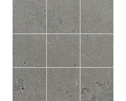Feinsteinzeug Mosaik Candy grey matt 29,8x29,8 cm