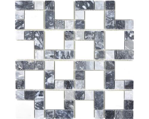 Mosaik XNM MC749 30,5x30,5 cm Kombination Stein mix