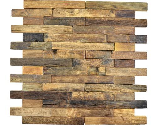 Holzmosaik Bowd 21 Verbund Boat 30x30 cm Old Wood