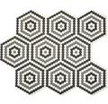 Glasmosaik Cuba HX3M hexagon ECO Glas Mix