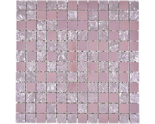 Keramikmosaik CG GA8 Quadrat gaku 31,6x31,6 cm pink