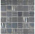 Keramikmosaik CG KN3 Quadrat Kanran 29,5x29,5 cm black