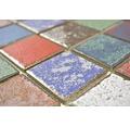 Keramikmosaik CD CUBIS Quadrat Orient Color Mix