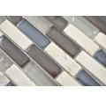 Glasmosaik XCM IL037 Verbund 29,8x30,4 cm Crystal/Stein mix