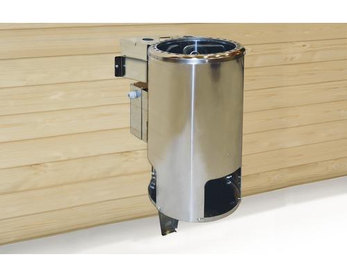 Bio Saunaofen-Set Weka 3,6 kW mit digitaler Steuerung
