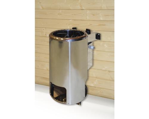 Saunaofen Weka Kompakt Rund 3,6 kW mit integr. Steuerung