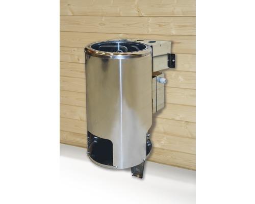 Sauna-Dampfbad-Kombiofen Weka 3,6 kW mit digitaler Steuerung