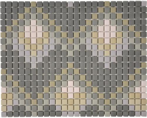 Glasmosaik Cuba MC6 31x24,60 cm grau matt