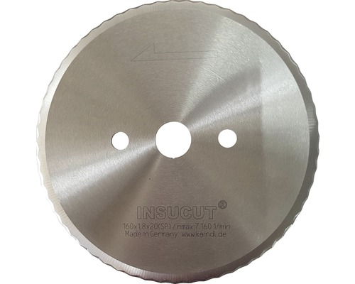 Kreissägeblatt für Dämmstoffe Ø160x1,5 x 20 mm 18433