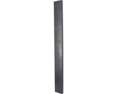 Stall Boxenwandelement 13,5x4x129 cm schwarz 10 Stk