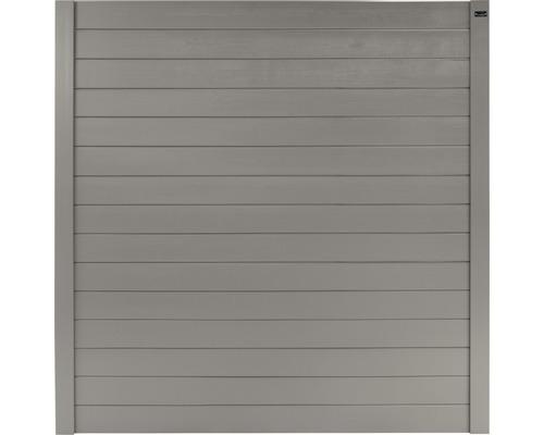 Hauptelement Zen Geschlossen 178x178 cm grau