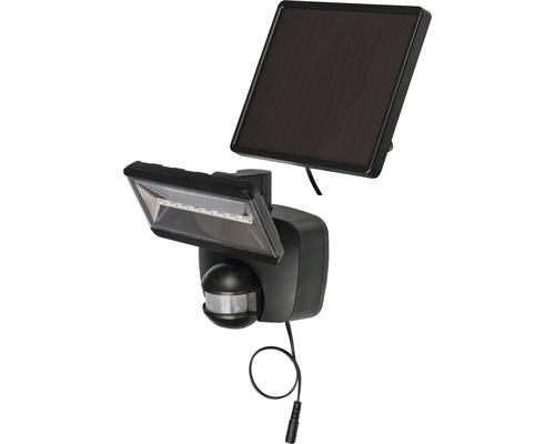 Solar LED Sensorstrahler SOL 800 IP44 mit Solar-Panel 400 lm 6000 K tageslichtweiß mit Bewegungsmelder anthrazit Leuchtdauer ca 3,5 h Brennenstuhl