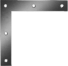 Eckwinkel quadratisch 200 x 200 x 30 mm, sendzimirverzinkt, 1 Stück