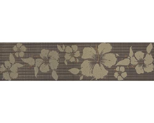 Bordüre Moire Tabacco Iris 10x40 cm