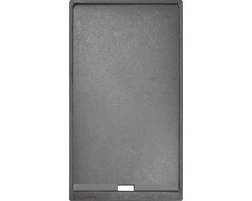 Plancharost Tenneker Carbon 42,3 x 23,8 cm Gusseisen schwarz