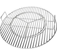 Tenneker® Eclipse Grillrost Ø 47 cm Edelstahl Schwarz