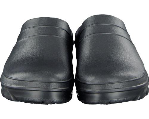 Clogs für Herren schwarz Gr. 44-45 mit Korkdecksohle