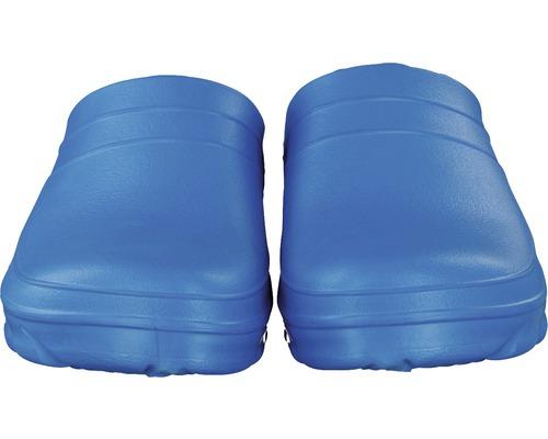 Clogs für Herren blau Gr. 40-41 mit Korkdecksohle