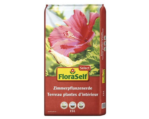 Zimmerpflanzenerde FloraSelf Select 15 L