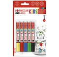 Marabu Porcelain & Glas Kids Maxi Fun 5er-Set
