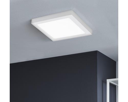 LED Deckenleuchte RGB/CCT 15,6W 2000 lm 2765 K warmweiß 225x225 mm Crosslink weiß