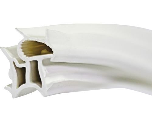 Stahlzargendichtung universal Länge 5 m Nutbreite 15 mm weiß