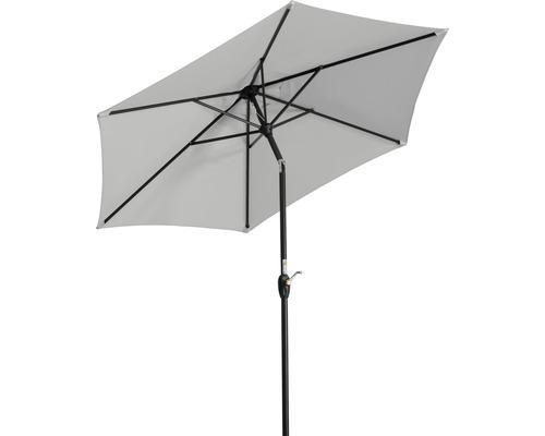 Sonnenschirm Schneider Bilbao Ø 220 cm silbergrau