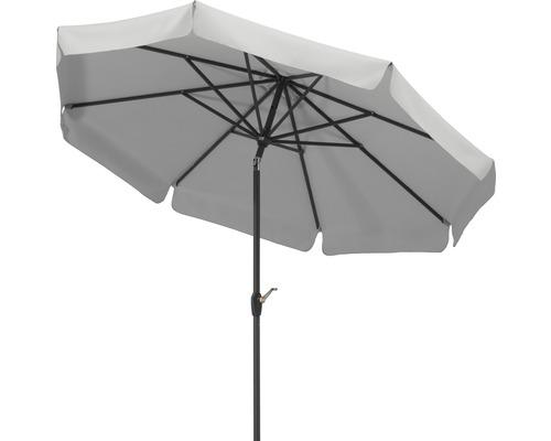 Sonnenschirm Schneider Orlando Ø 270 cm silbergrau