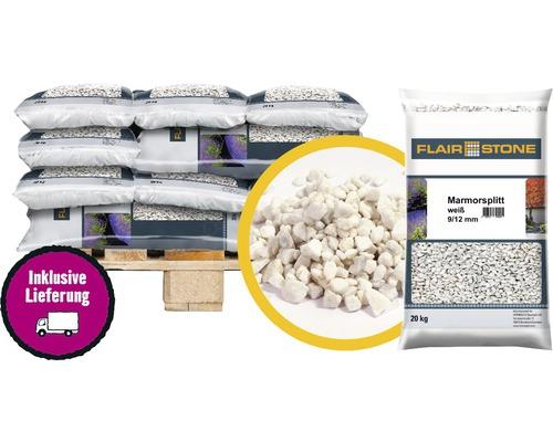 Marmorsplitt Flairstone 9-12 mm 1/2 Palette 24x20 kg