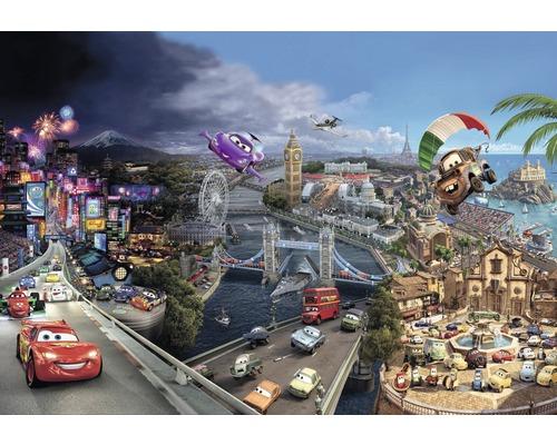 Fototapete Disney Cars World 368 x 254 cm