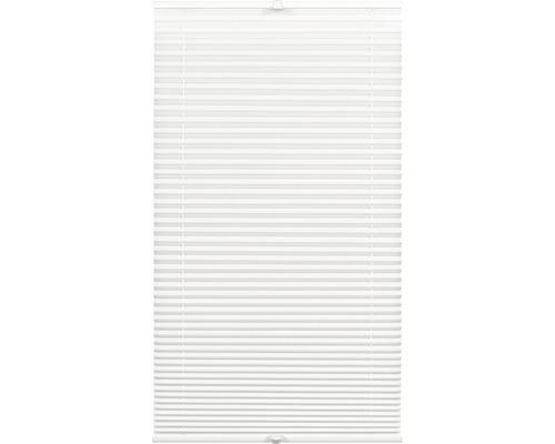 Wohnidee Tageslichtplissee 80x210 cm weiss