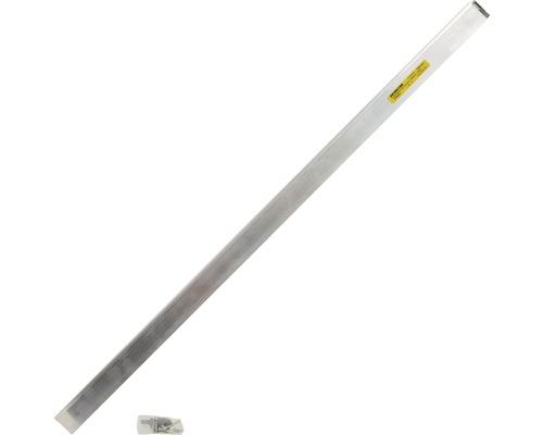 Automatische Türbodendichtung Länge 834 mm Nutbreite 15 mm aluminium