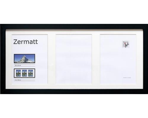 Objektrahmen Zermatt schwarz 23x50 cm