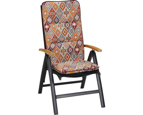 Sesselauflage Best hoch 120x50x6cm D.1960