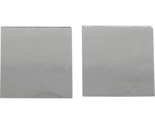 Spiegelmosaik, selbstklebend, 2x2cm,silber