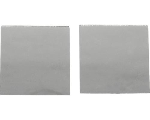 Spiegelmosaik, selbstklebend, 3x3cm,silber
