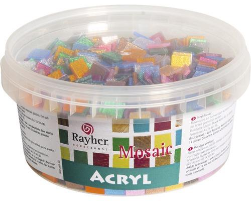 Acryl-Mosaiksteine Mischung,Glitter