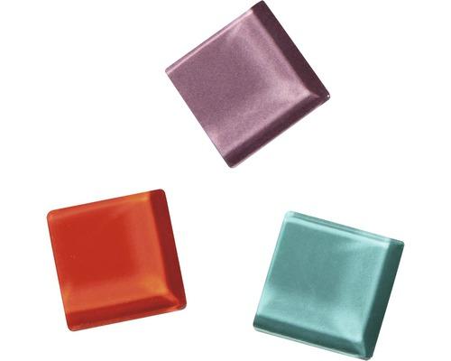 Soft Glas-Mosaiksteine Mischung, rot