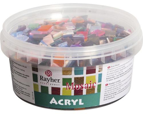 Acryl-Mosaiksteine Mischung, bunt