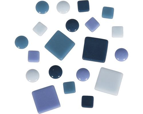 Mosaiksteine-Mischung, blau