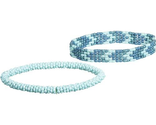 "Armbandset ""Marie"" 2, 2 Stück, blau"